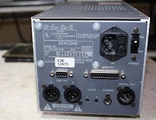 Denon DN-951FA Professional CD Cart Player (Sold) Denon%2B951%2Brear