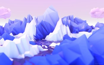 Wallpaper: Low Poly Wallpaper