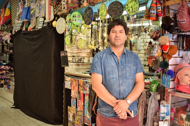 Osorno: Jhon comerciante de la Galería Amthauer