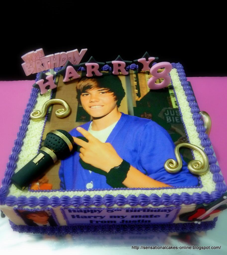 The Sensational Cakes: Justin Bieber Cake / Cupcakes ...  The Sensational...