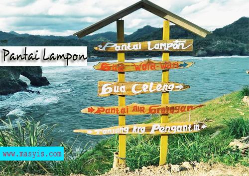 info Pantai Lampon terbaru pasir