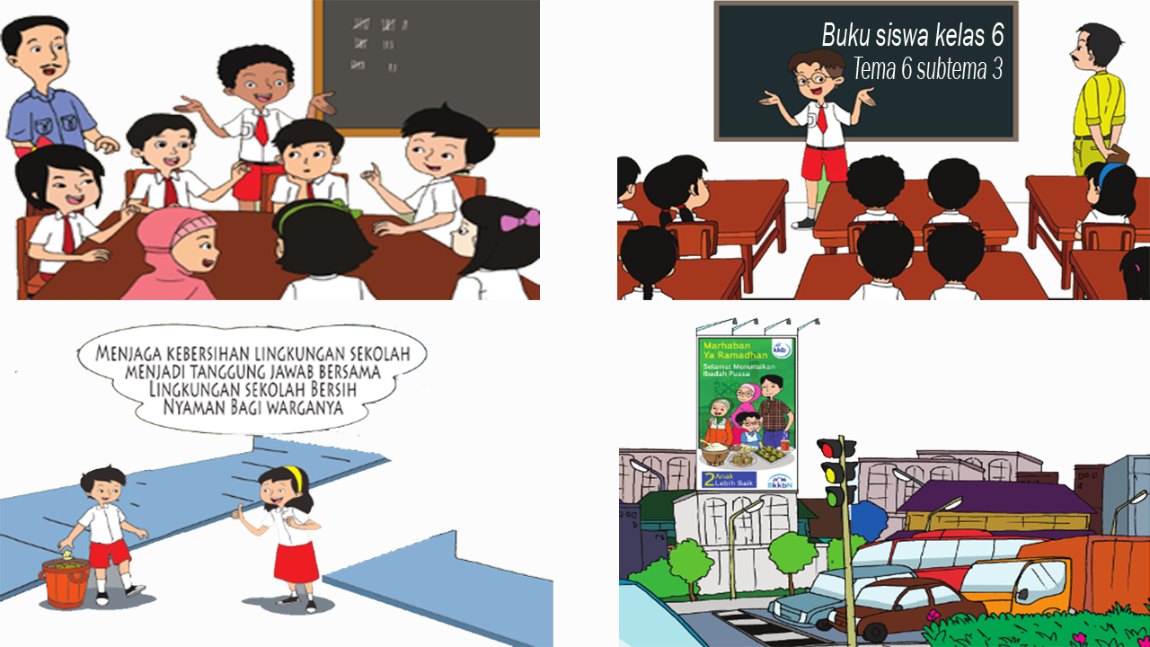 RPP Kelas 6 Tema 6 Subtema 3 Kurikulum 2013 Revisi 2018