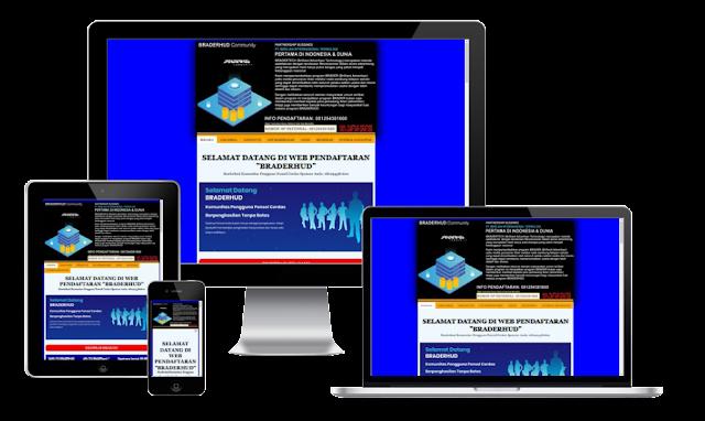 Minisite Landing Page Blogspot Braderlanding