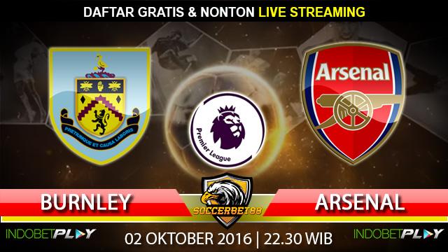 Prediksi Burnley vs Arsenal 02 Oktober 2016 (Liga Inggris)