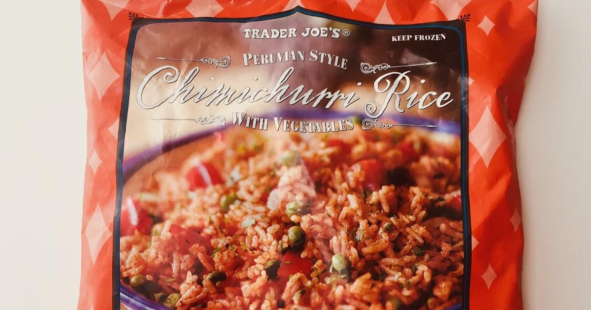 Trader Joe S Peruvian Style Chimichurri Rice