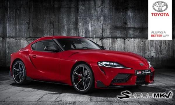 nueva generación del Toyota Supra 2019