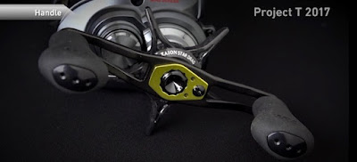 Review reel daiwa steez A TW 2017 - handle