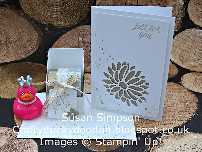 Stampin' Up! UK Independent Demonstrator Susan Simpson, Craftyduckydoodah!, February 2017 Customer Thank You Gift, Gorgeous Grunge, Stylish Stems Framelits Dies, Supplies available 24/7,