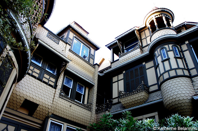 Detail of Winchester Mystery House