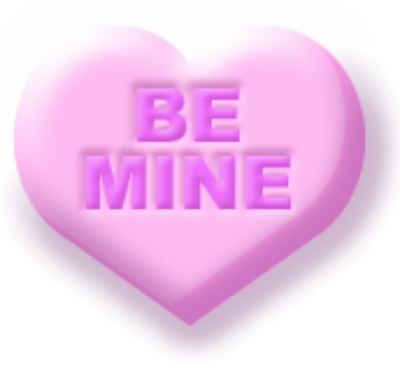 photo regarding Printable Conversation Hearts named Valentine Interaction Middle Printables with Cherub Cupid