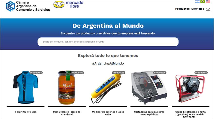Mercado Libre y CACE presentan