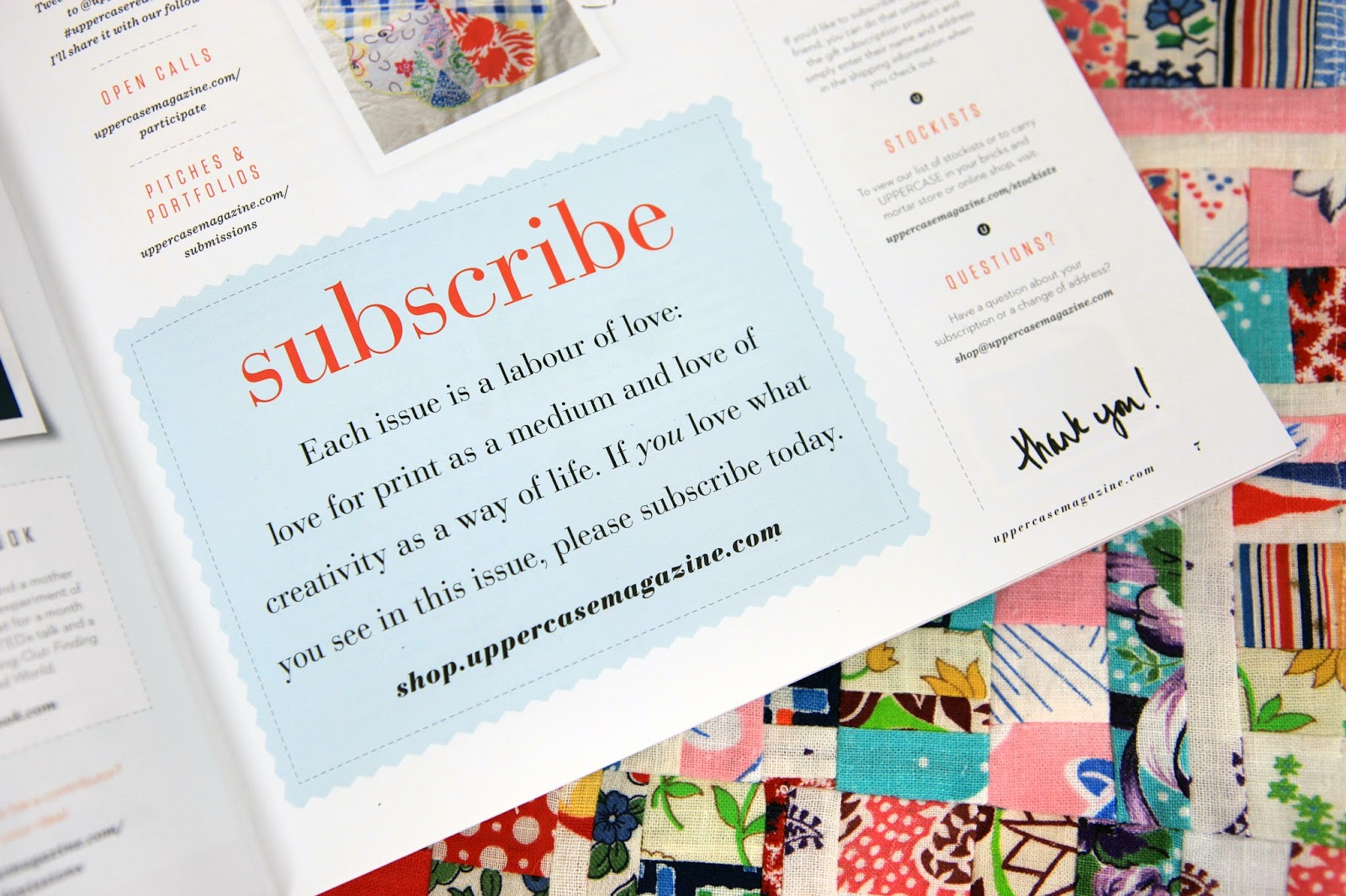 Janine Vangool, Uppercase Magazine, Interview With Anne Butera On The My  Giant Strawberry Blog