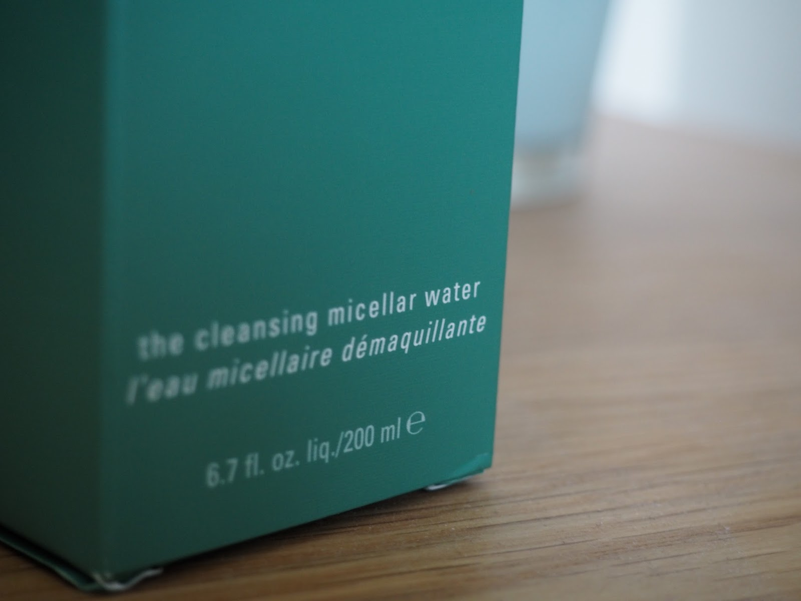 La Mer Cleansing Micellar Water in box