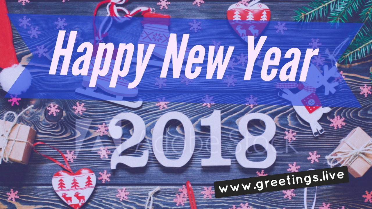 Creative happy new year short greeting cards 2018 telugu short greate collection of happy new year 2018 creative greeting ides from greetingsve m4hsunfo