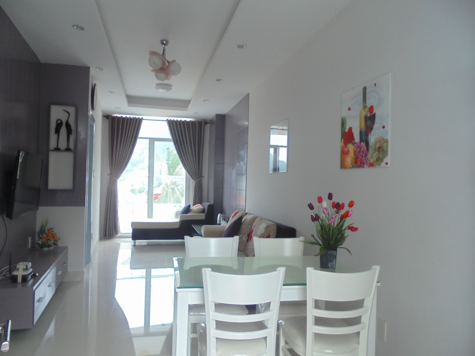 450USD - 1 BEDROOM APARTMENT FOR RENT AT THUY TIEN BUILDING