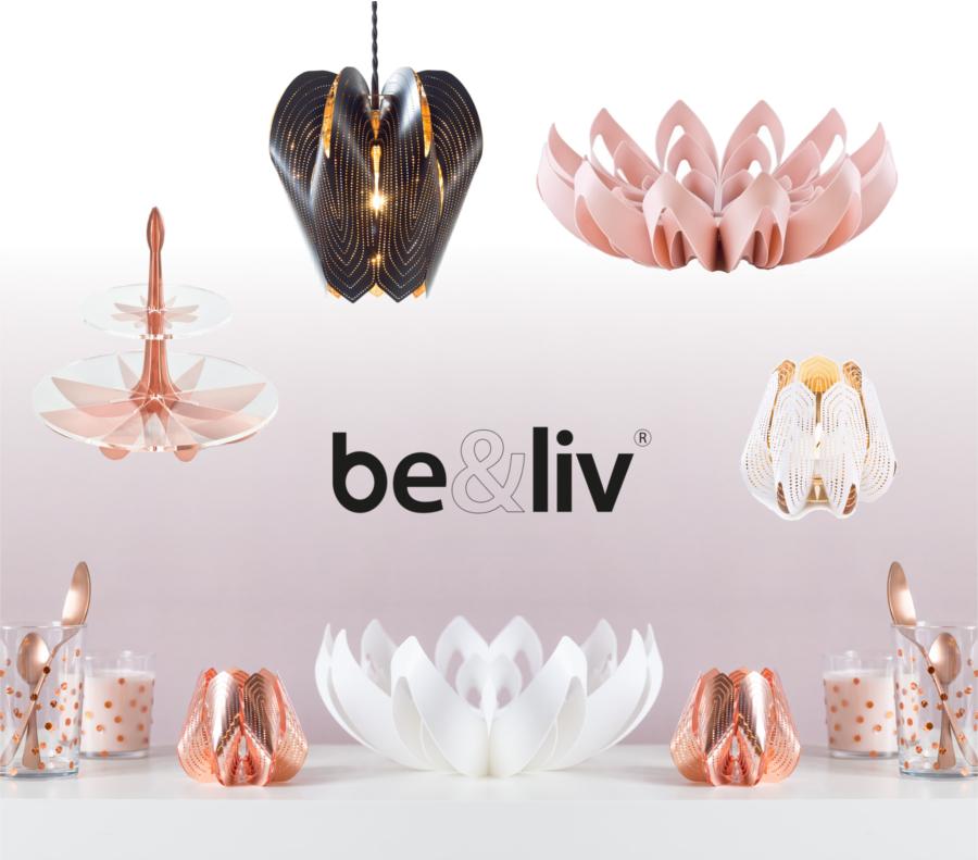 be&liv beandliv be+liv Design Lampenschirm Blossom Obstschale Petals