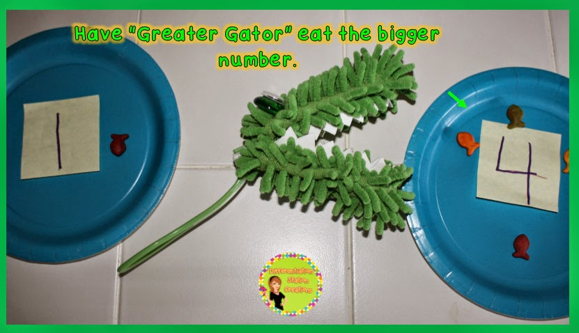 Greater Gator math manipulative