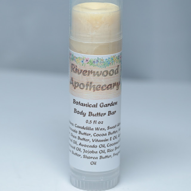 Riverwood Apothecary Botanical Garden Body Butter Bar