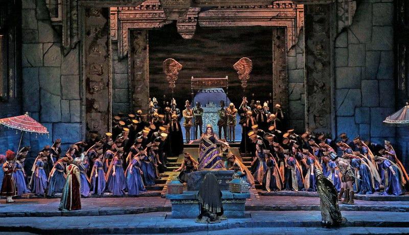 Προβολή της όπερας «Σεμίραμις» του Ροσσίνι στο Δημοτικό Θέατρο Αλεξανδρούπολης