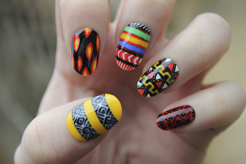 African Nail Art | Joy Studio Design Gallery - Best Design