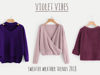 Sweater Weather Trends | Winter Spring 2018