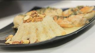 طريقة عمل صدور دجاج محشية ارز بجوز الهند مع رانيا الجزار في نص مشكل
