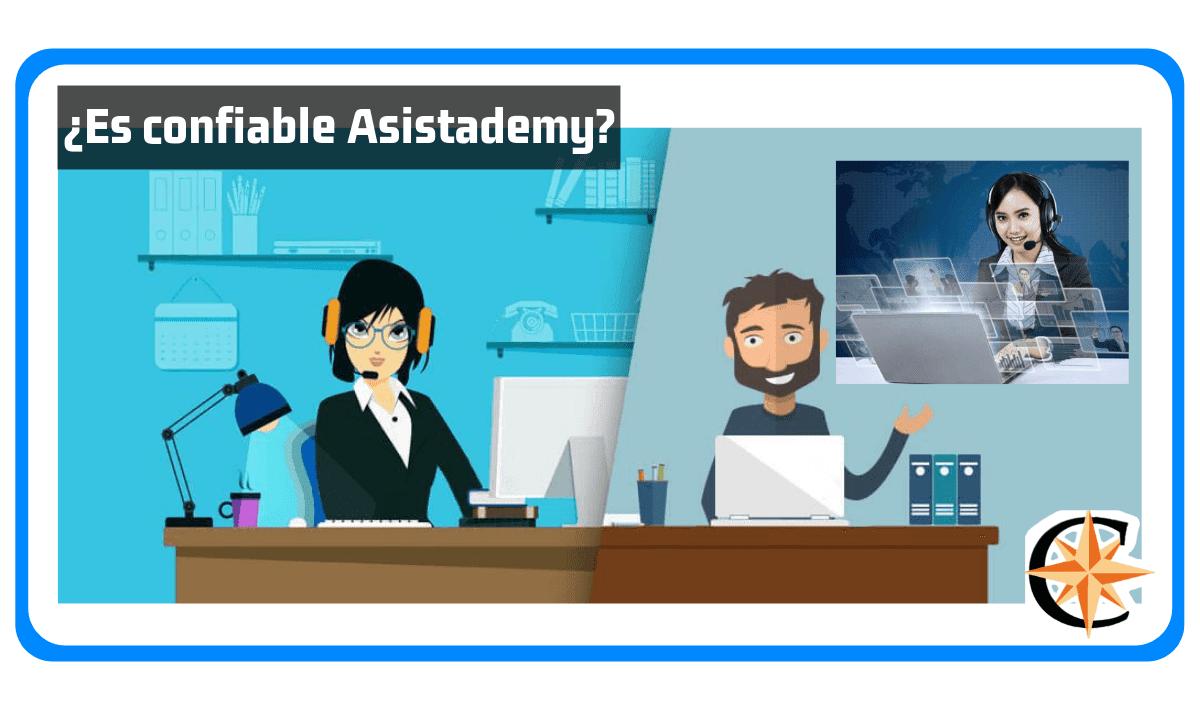 ¿Es confiable Asistademy?