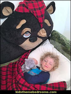bear themed bed animal shaped bed toddler beds boys beds bears Animal themed toddler Beds - themed beds - fun kids theme beds - toddler animal beds - kids themed beds - kids room furniture - animal themed headboards - Animal Shaped Beds for toddlers - girls beds - boys beds - kids rooms wall decorations - playroom beds - unique furniture -  fun furniture - toddler bedding - Pajamas