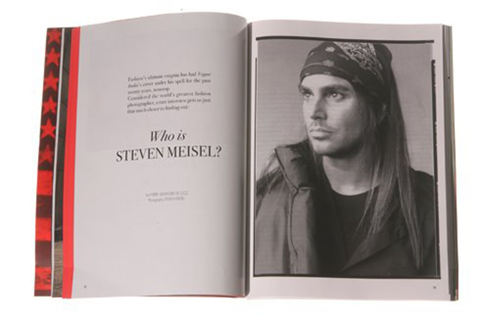 Eniwhere Fashion - Steven Meisel