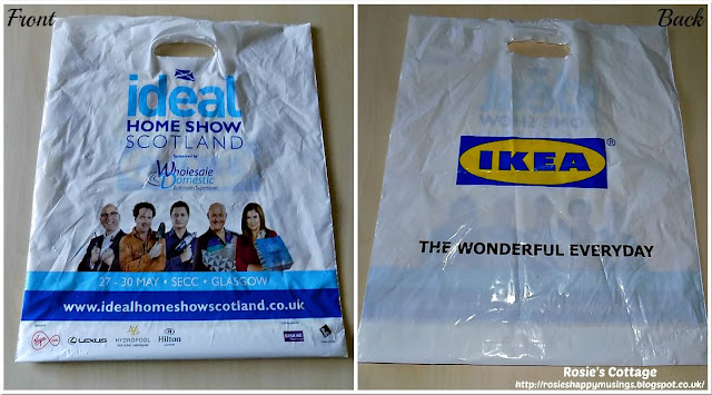 Ideal Home Show Scotland Goody Bag