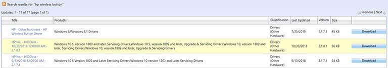 HP HIDClass Gagal Diinstal Dengan Kesalahan / Error 0x800703e3 Pada Windows 10
