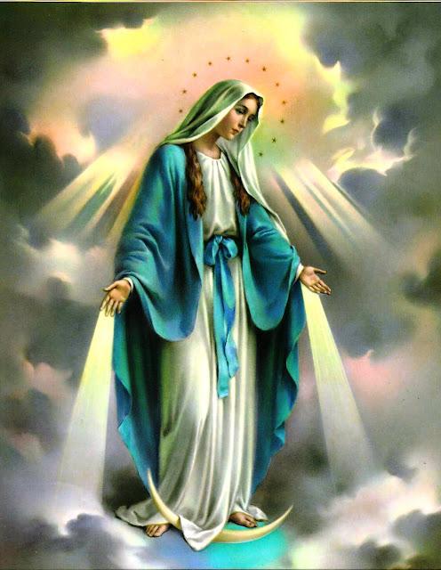 Resultado de imagen para virgen de la inmaculada concepcion