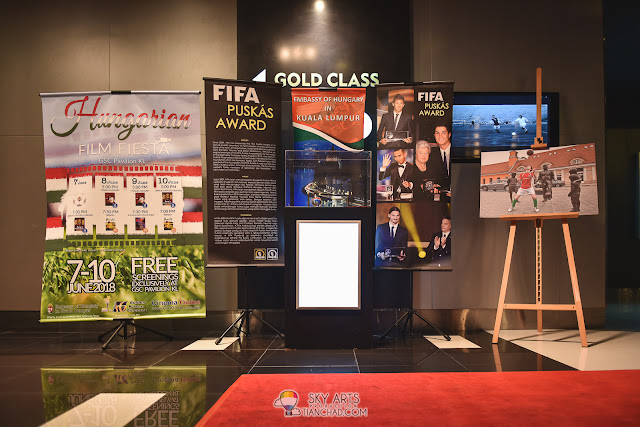 FIFA Puskás Award at Hungary Film Fiesta 2018 Launch at GSC Pavilion KL