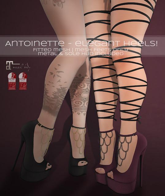 ♛ Antoinette - elegant Heels! ♛