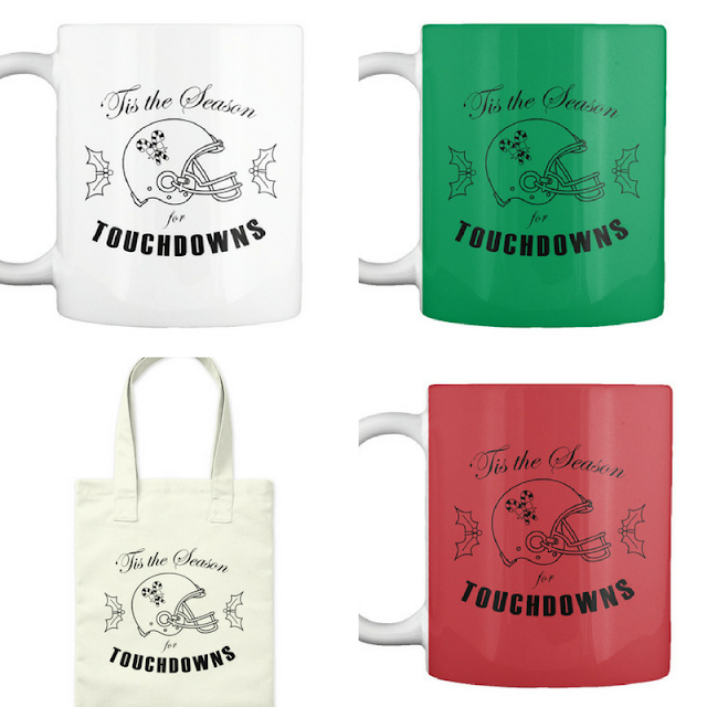 football fan mug and tote bag