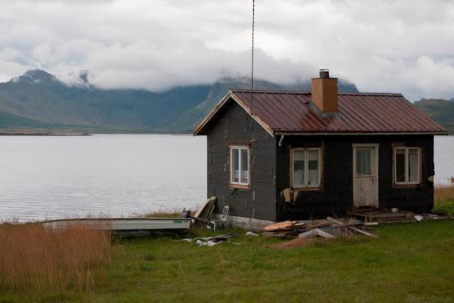 Casa in riva al mare in norvegia