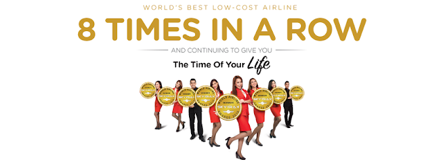 AirAsia World Best Low-Cost Airline Skytrack 2016