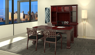 Traditional Executive Office Interior