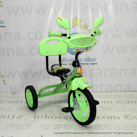 Sepeda Roda Tiga BMX PMB 920 Safari Musik Sandaran Green