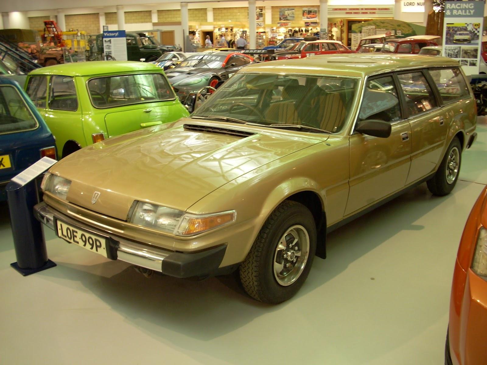 Rusty Old Rubbish: Dream cars: Rover SD1 estate