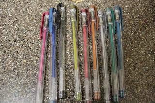 Fly Pen Rainbow Gel Pens 3