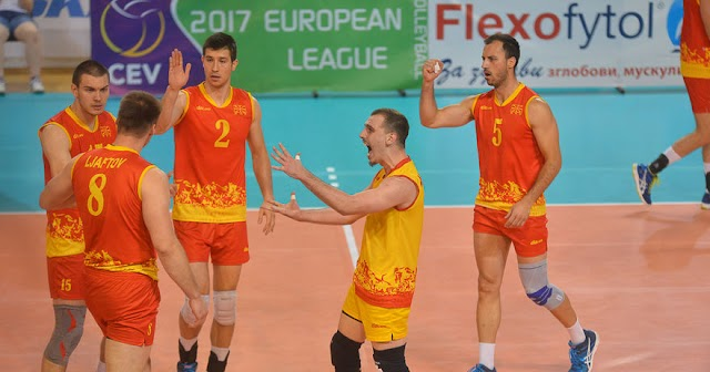 Volleyball: Macedonia scores opening win in European League