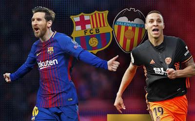 مشاهدة مباراة برشلونة وفالنسيا بث مباشر اليوم
