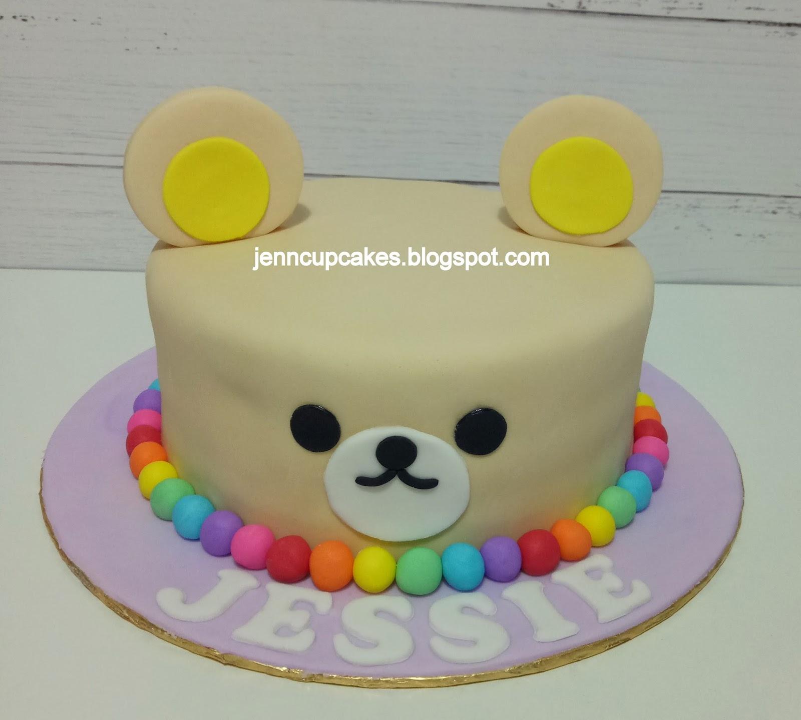 Jenn Cupcakes Muffins Rilakkuma Cake