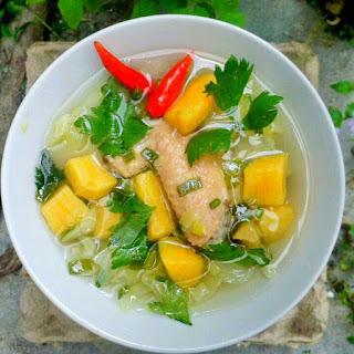 Ide Resep Masak Sop Ayam Ubi Kuning