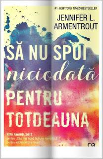 rezumat roman Sa nu spui niciodata pentru totdeauna Jennifer L. Armentrout