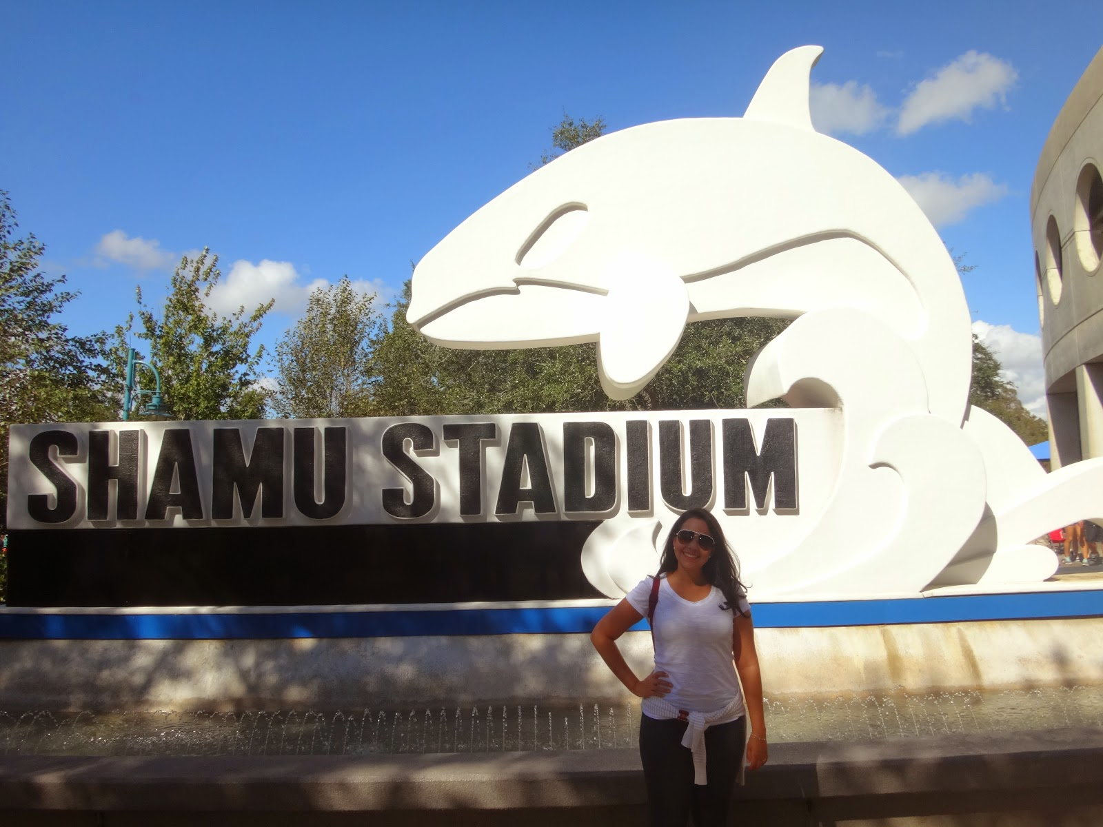 shamu stadium - Parque sea world - orlando, florida