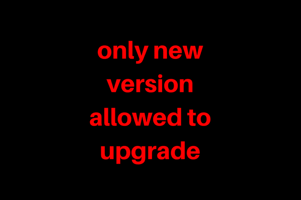 Mengatasi  Only New Version Allowed to Upgrade TF Update Andromax U2