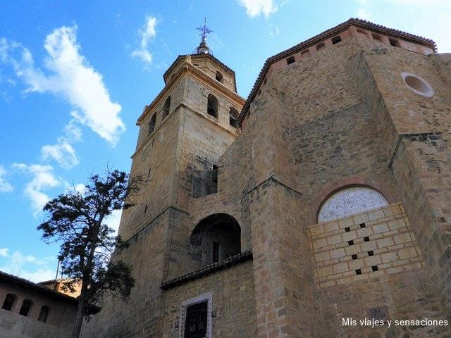 Catedral de Albarracín, Aragón, Teruel