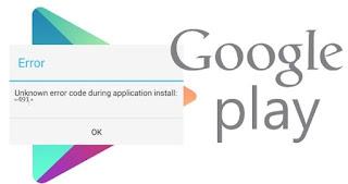 Comment réparer erreur 491 de Google Play Store